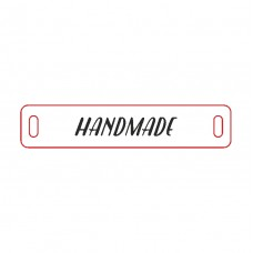 Wooden tags (to order). Rectangle 10 x 50 mm (set of 10 pieces)
