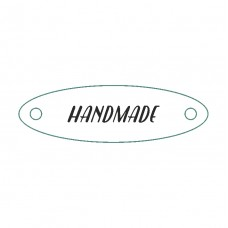 Wooden tags (to order). Oval 15 x 50 mm (set of 10 pieces)