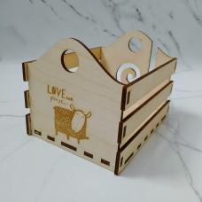 Клубочница-ящик (заготовка без покрытия)